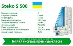 Steko S500 window