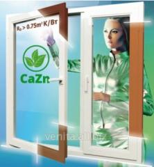 Energy saving EKO of the Steko window