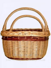 Baskets are wattled, qualitative sets of a rod, a
