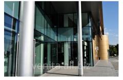 Aluminum facade of Steko non-standard design
