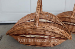 Baskets for firewood, a set of the Hat baskets