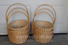 Плетеные подарочные корзины оптом, Иза