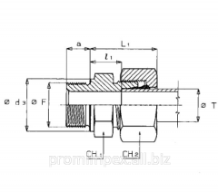 The direct screwed-in threaded connection of GEV-M
