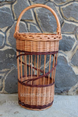 The basket for storage of umbrellas to get baskets