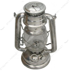Average oil lamp colored (Bat of 28 cm) No. 991320