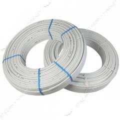 The metalplastic pipe Pexal (Valsir) LASER---the