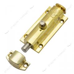 Latch on the button of 10 cm G Gold No. 310405