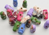 Decorative figures buttons Nested doll