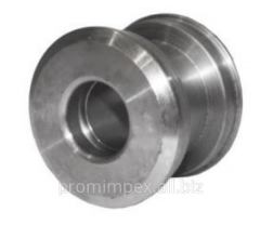 The piston with a smooth opening of PIS