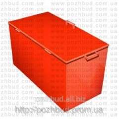 Box for sand of 0,12 cbm. (800x400x400)