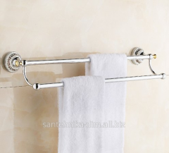 The holder for a towel of Ceramic Double Row