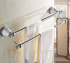 The holder for a towel of Rhinestones Double Row