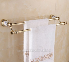 The holder for a towel of Double Row Painted
