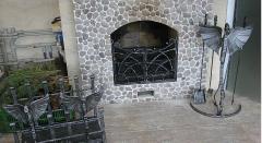 Камины кованые от компании Ковка Люкс, кованые
