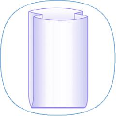 Polyethylene insert (pervichka and vtorichka)