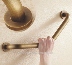 Angular hand-rail for bathing Corner Bronze, the