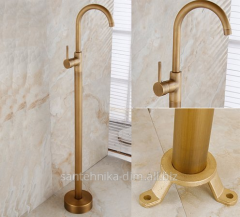 The floor mixer for a bathroom without Menjoly