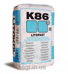 Litokol LITOFAST K86 - cement glue of a fast
