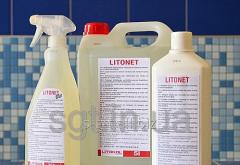 Litokol LITONET - a cleaner from epoxy a zatirok