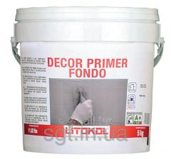 Litokol DECOR PRIMER FONDO - a primer for