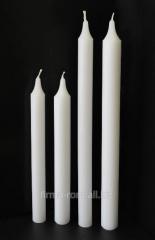 Свечи хозяйственные парафиновые НГЦ Ø= 18-22мм  L=185-250мм