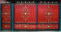 Gate metal forged