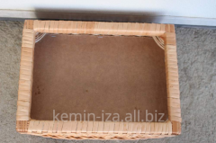 Frame trays h15sm height, wattled products from a
