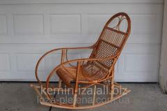 Кресло качалка из лозы плетеная мебель