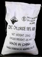 Цинк хлористый (Китай,  Чехия)