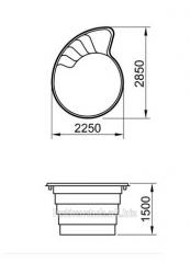 사우나 용  욕조