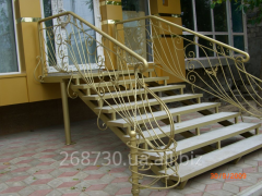 The forged handrail