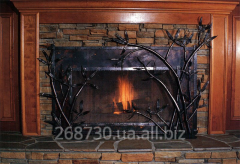 Decorative protections for a fireplace