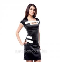 Летнее женское платье(Черный)