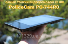 Видеодомофон PoliceCam PC-744R0 + вызывная панель DVC-4Q