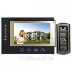 Видеодомофон PoliceCam PC-701HD + вызывная панель