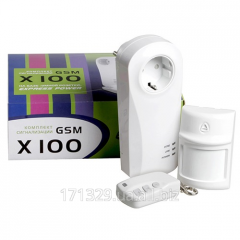 Комплект сигнализации GSM X100/ X700