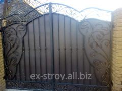 Кованые ворота под заказ, калитки и ворота