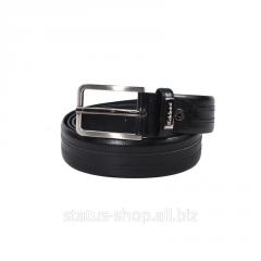 Кожаный ремень для брюк Baldinini(Черный)