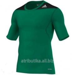 T-shirt sports Adidas TechFit Base Tee (green),