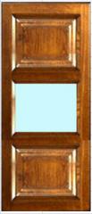 Facade Pryamy 1 sklo 2 f.