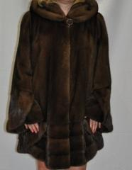 Accessories from fur. Fur coats of the big sizes