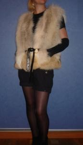 Fur coats from the silver fox, minks, foxes