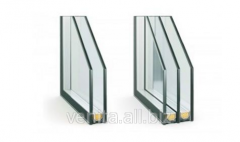 The double-glazed window is two-chamber