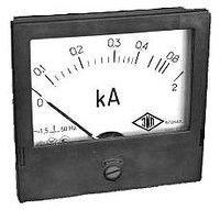 The E365 ampermeter for measurement in alternating