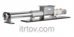 The screw food pump for forcemea