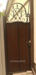 Калитки для ворот, калитки кованые из