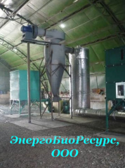 Equipment for the distillery industry (drying of