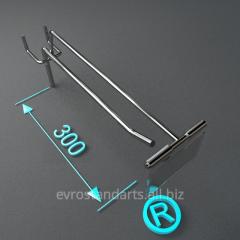 Торговое оборудование крючки с ценникодержате