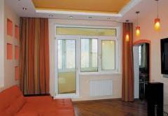 Евроокна, Балконные двери, производство установка