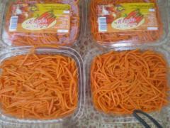 Carrots on Korean